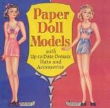 Paper Doll Models by Saalfield 1942.