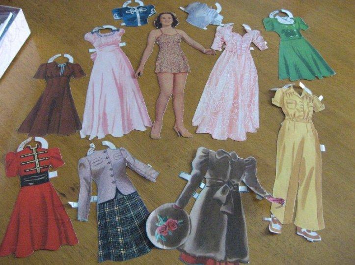 Deanna Durbin paper doll