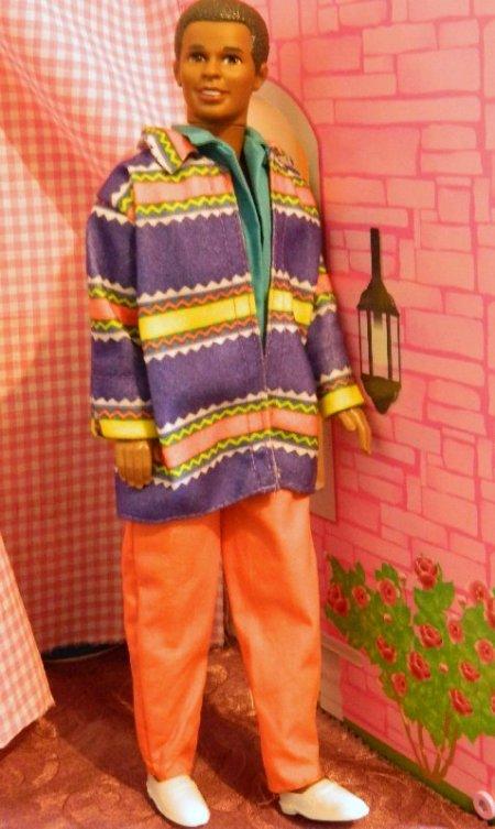 Steven, friend of Ken, wearing the outfit from Bennetton Ken.