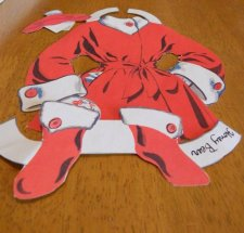 Part of an outfit for Honey Bear.