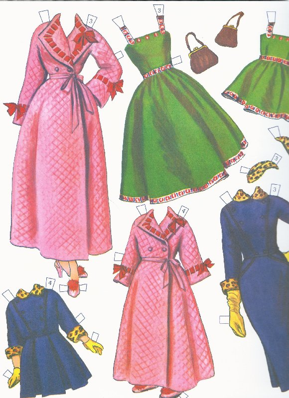 50s fashions for Big'n'Little Sister.