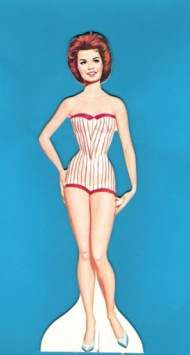Annette Funcinello Paper Doll. 1962