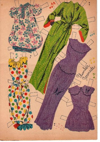 Doris Day outfits.
