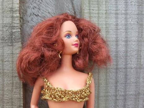 Jewel Hair Mermaid Midge revamped.