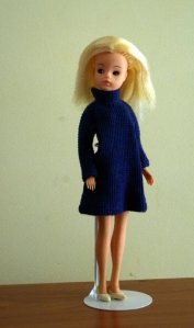 """""""Sleepy Sindy"""" in the blue version of Coffee Party."""