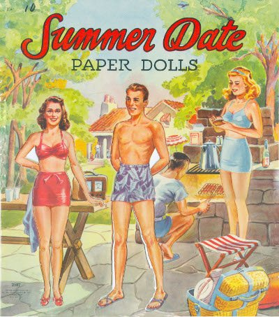 Summer Date - Saalfield 1948