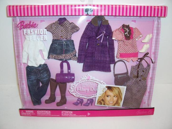 The Hillary Duff Purple themed closet.