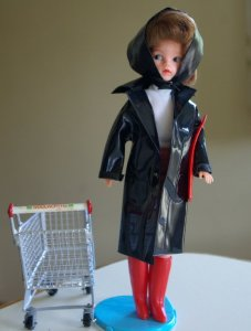 Sindy Shopping in the Rain outfit
