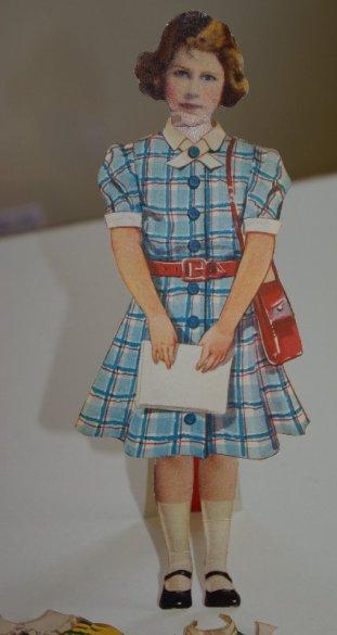 A schoolgirlish princess Elizabeth..