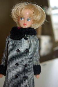 Palitoy Tressy in double breasted Tressy coat.