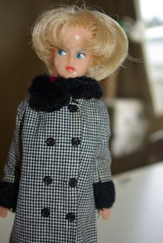 Palitoy Tressy in double breasted Tressy coat.