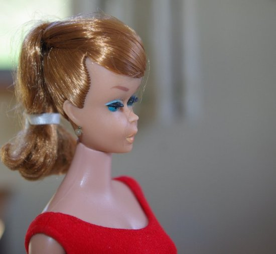 Titian Swirl Ponytail Barbie.