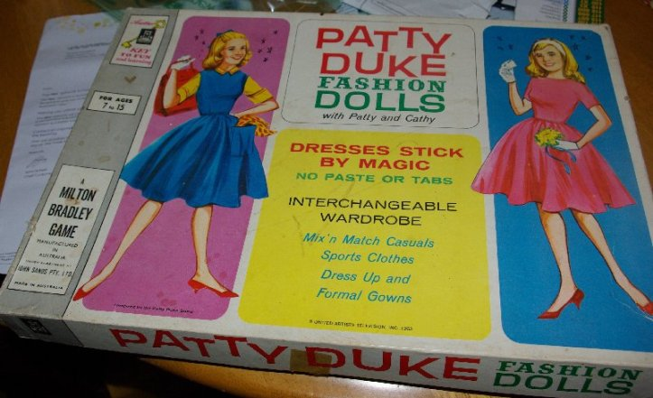 Patty Duke Fashion dolls by Milton Bradley