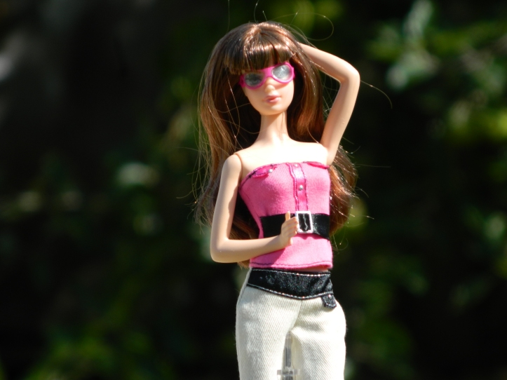 Black Basics Barbie 03 aka Ruby.