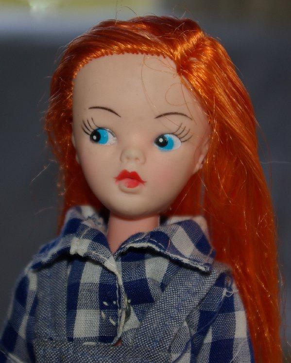 Red-head Sindy clone