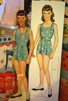 Janet Lennon paper doll.