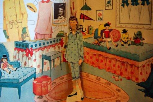 Janet Lennon paper doll