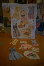 Janet Lennon paper doll clothes