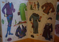 Lennon Sisters paper dolls reproduction clothing.