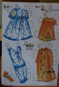 Lennon Sisters paper dolls reproduction clothing