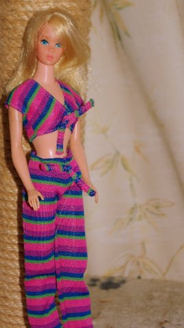 Barbie with straight body and new face.