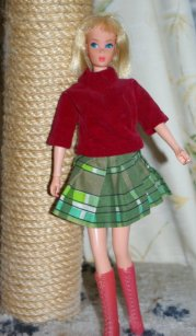 Equestrienne Barbie 1978, foreign issue