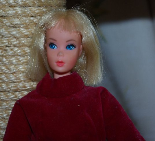 A foreign issue Barbie.