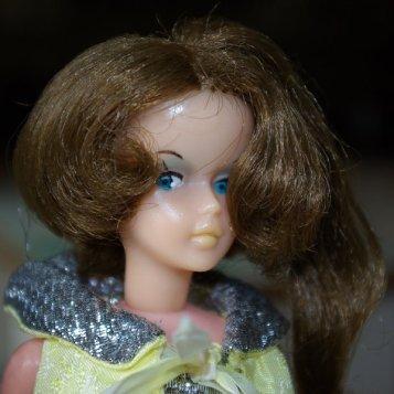 Brunette Tressy