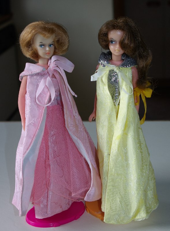 Two Tressy dolls that belong to Naomi.
