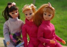 Lynne with 2 Dollikin friends.