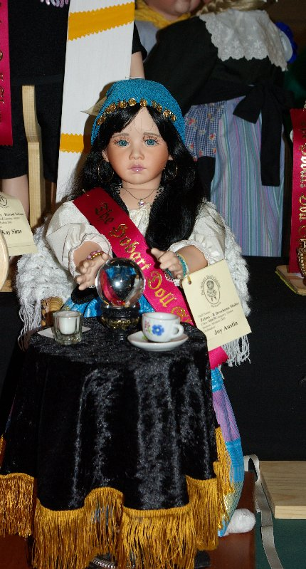 Gypsy fortune teller doll.