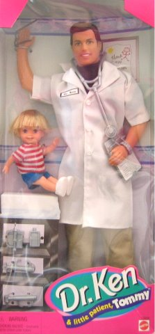 Doctor Ken and Little Tommy 1997 photo from the internet.