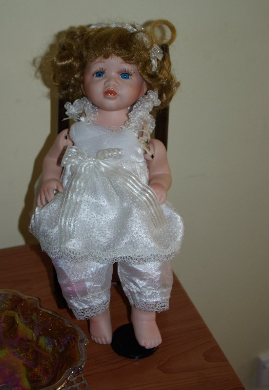 Porcelain doll marked Posh Lady 107 of 300