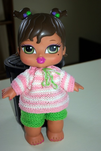 Baby Bratz in a new outfit.