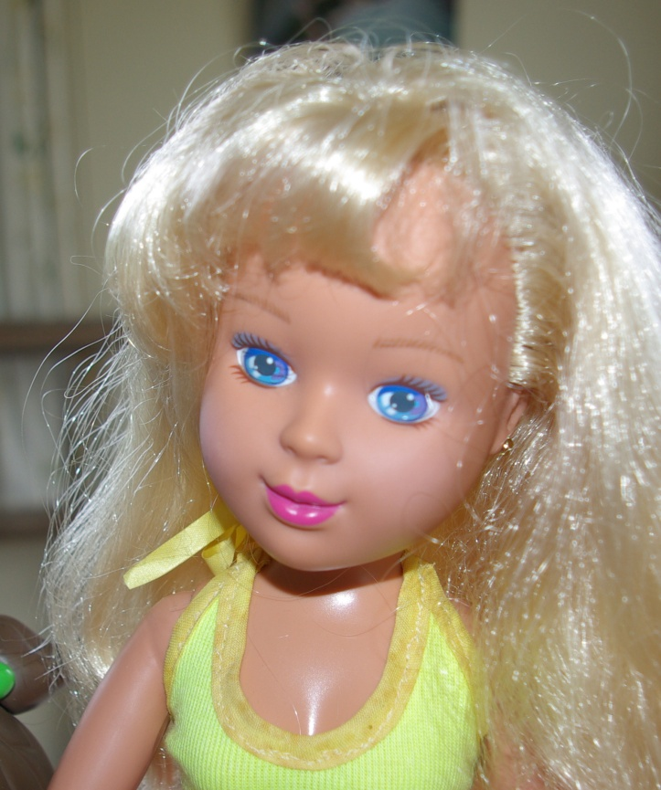 "Doll marked Tyco Industries Inc ""Mommy's Having a Baby"" 1992"