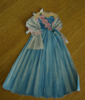 One of Mary's vintage gowns.