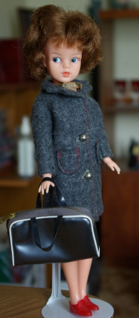 "Sindy in ""Happy Traveller"" coat"