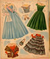 Mary Hartline gowns 1952