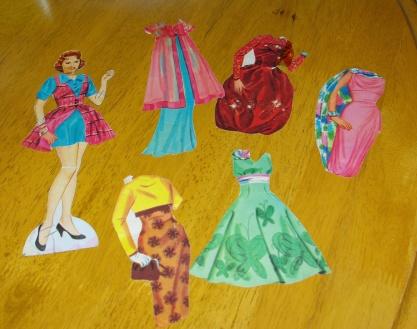One set of original outfits