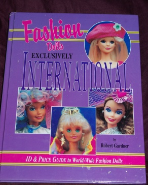 This book is handy for overseas release Barbies. We get a few of them here.