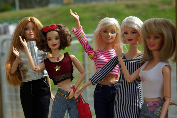 Jan and her models celebate a successful fashion shoot.