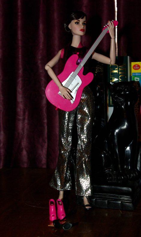 Alex in the Rock Star Fashion