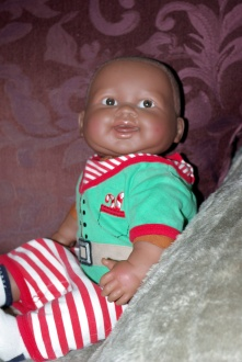 cloth body baby doll Berenguer