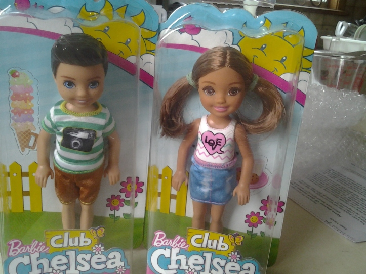 Club Chelsea boy and girl