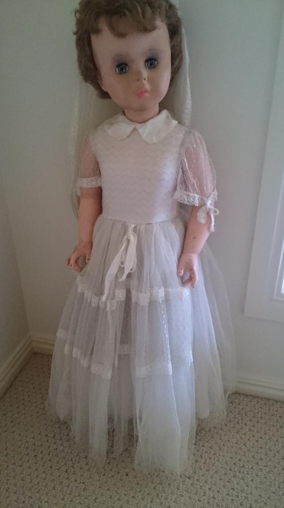 Regal Walker Bride Doll