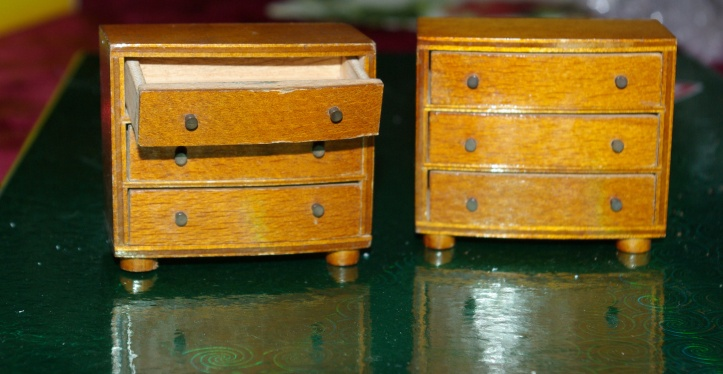 Barton chests with working drawers.