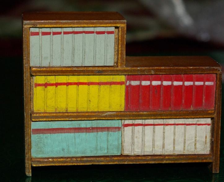 A bookcase by Barton