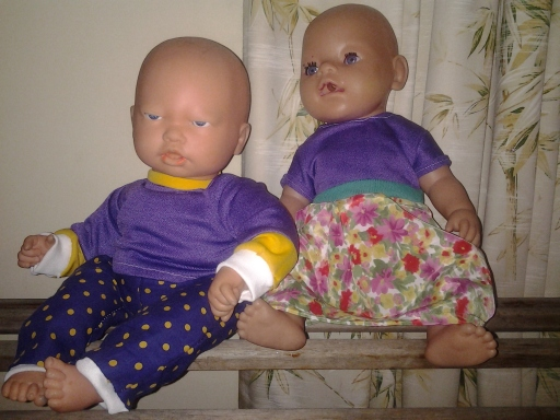 Redressed dolls headed back to the Op Shop