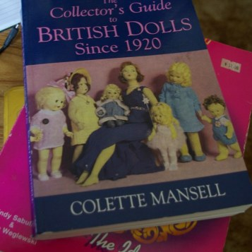 British Dolls Since 1920 by Collette Mansell