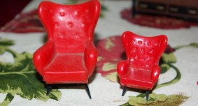 Triang and Blue Box chairs